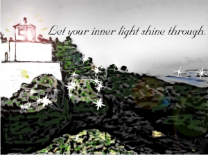 let your inner light shine through