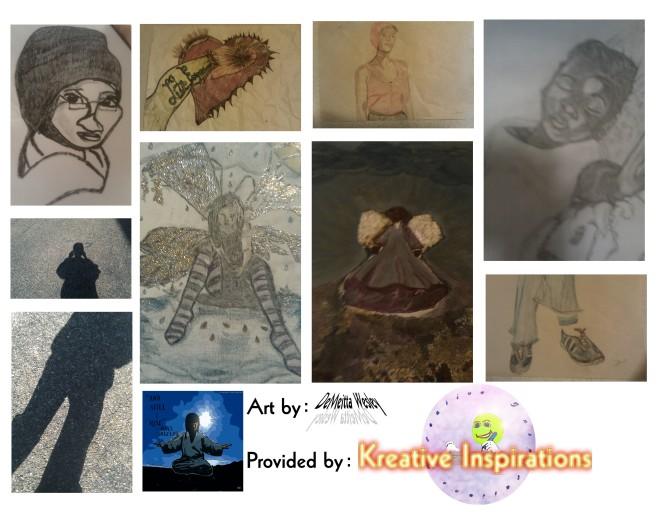 art, demeitta wesley, kreative inspirations