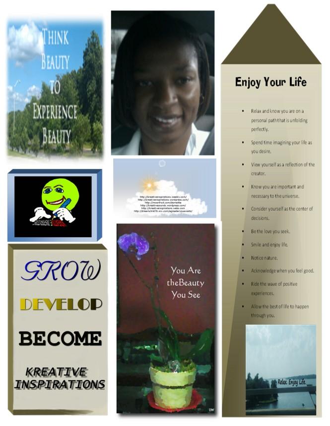 kreative inspirations, demeitta wesley, inspiration, motivation