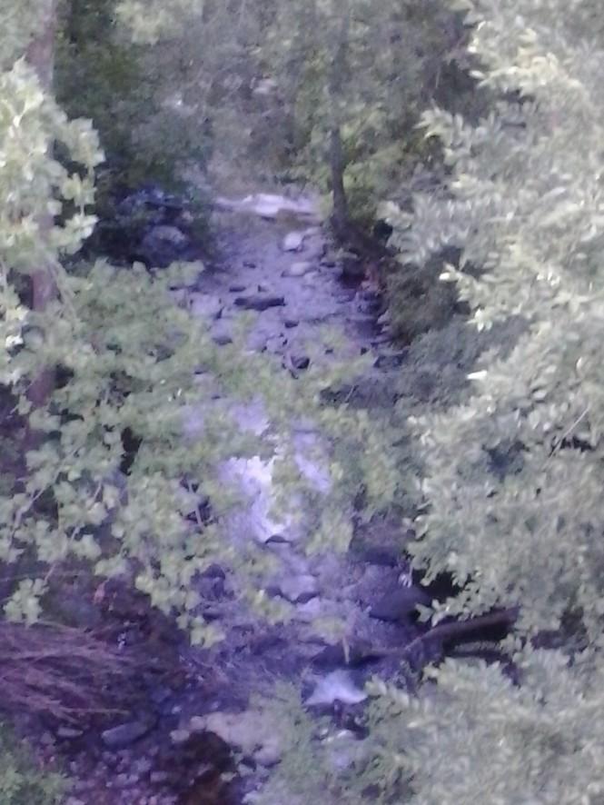 Gulpha Gorge Creek in Hot Springs, AR